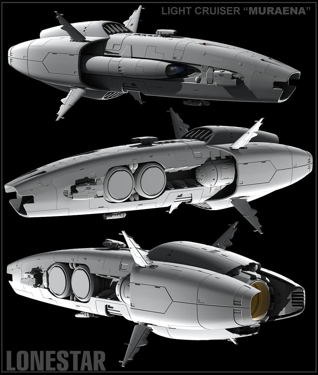 MURAENA light cruiser