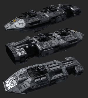 Pike gunship WIP part2