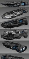 Pike gunship WIP part3