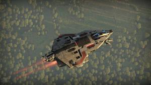 Custom fighter model 5.