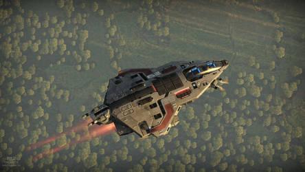 Custom fighter model 5. by NovA29R