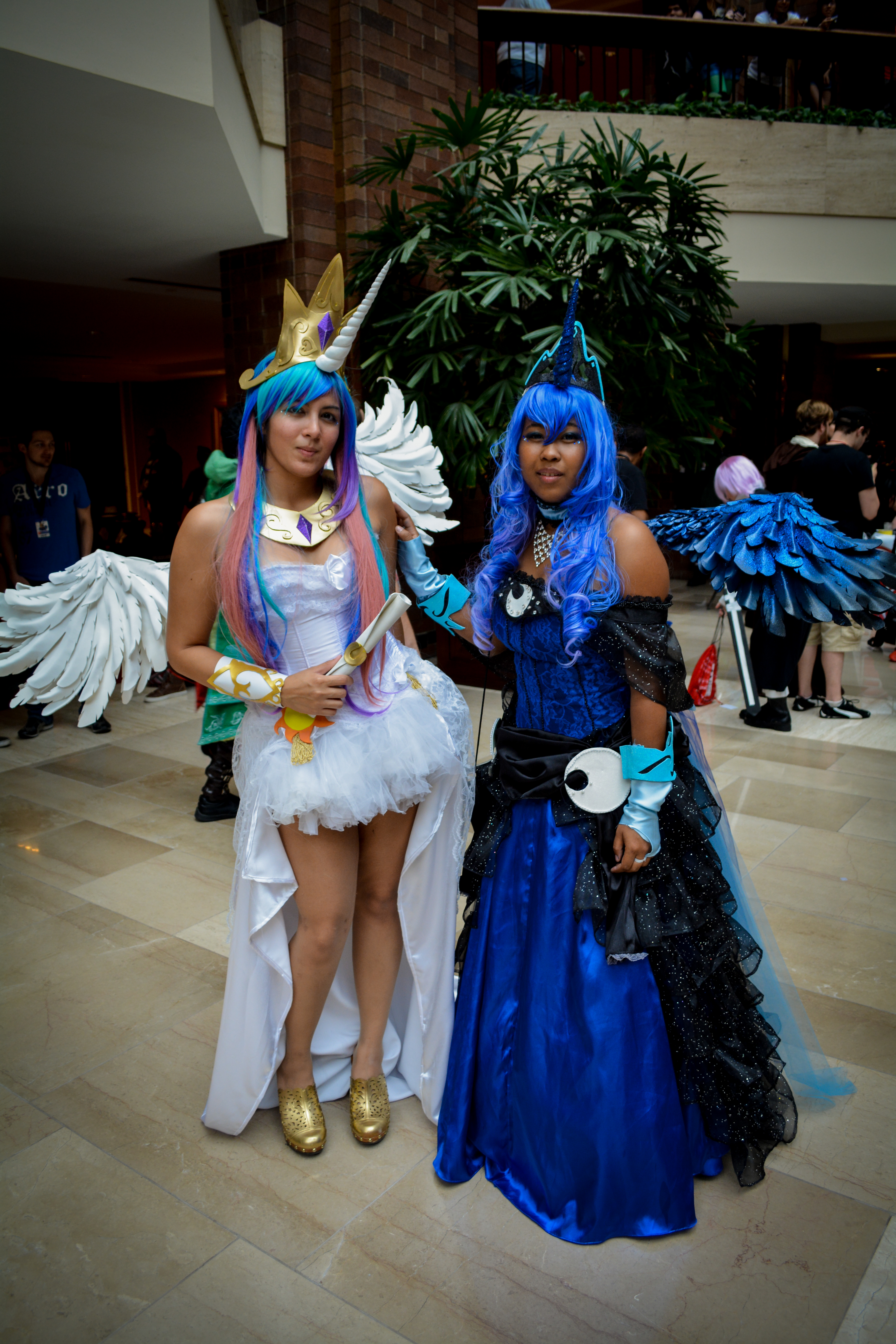 Princess Luna Cosplay Celestia And Luna Cosplay By Belleciste Db
