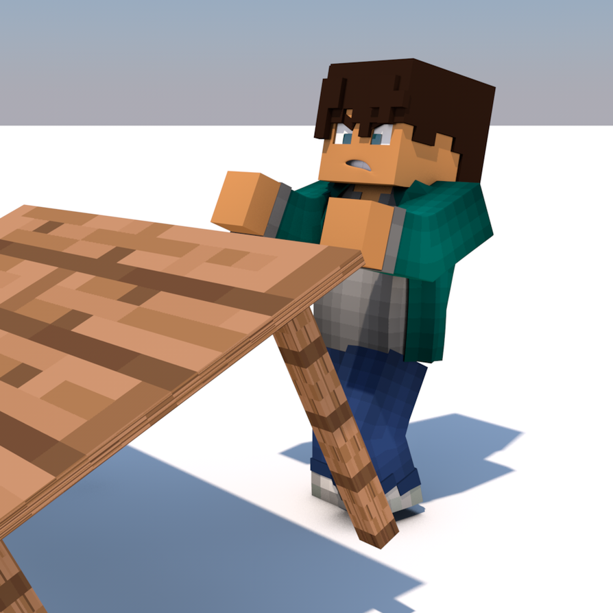 Minecraft table flip by carro1001 on deviantart - Table d alchimie minecraft ...