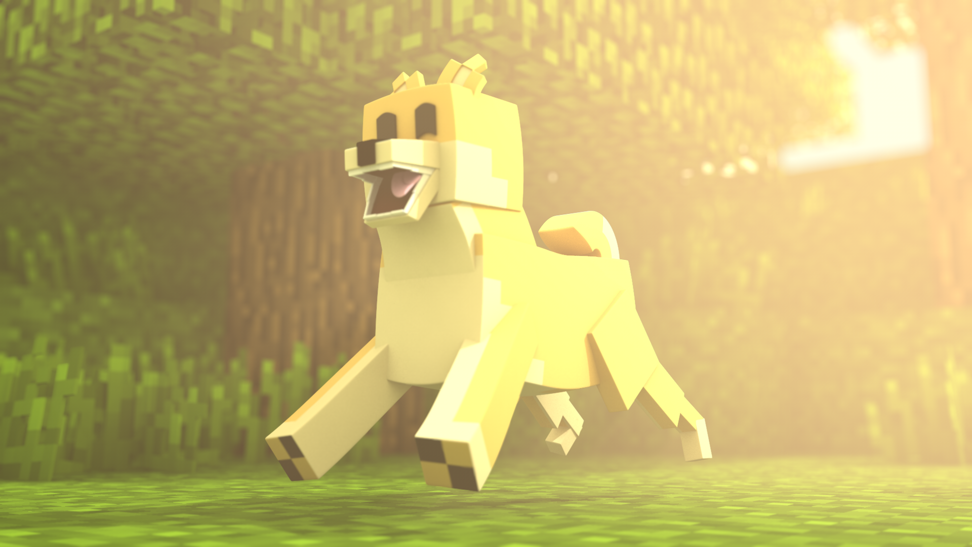 Much Render, Very Minecraft, Much Rig, WOW by Carro1001 on ...