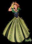 Princess Anna - Coronation Dress