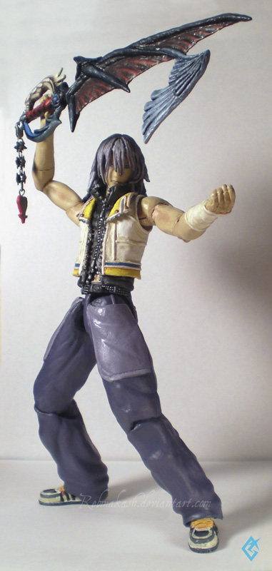 Play Arts Riku Full Body by Rebmakash