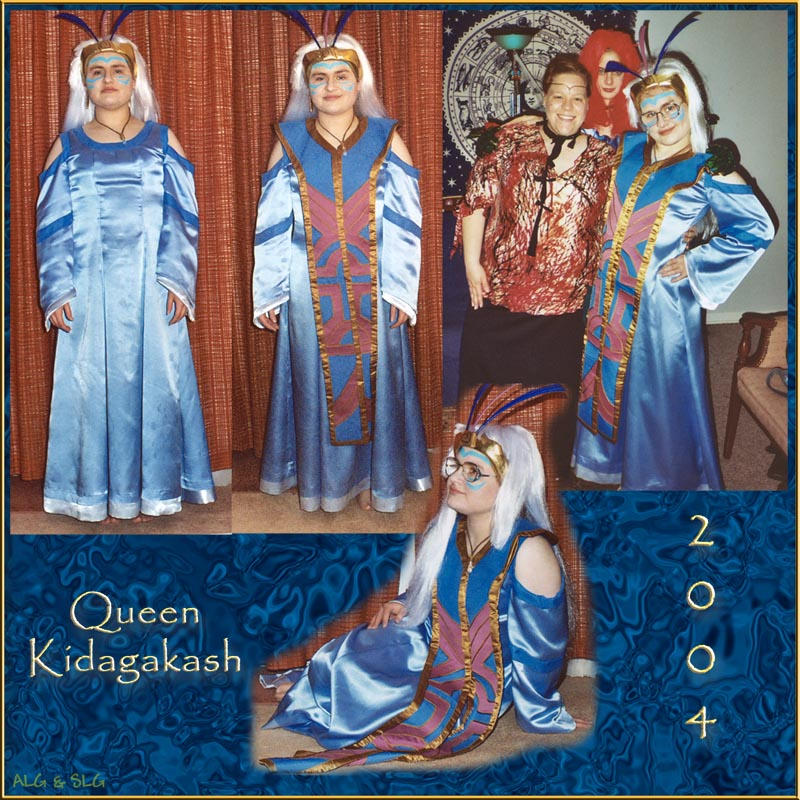 Queen Kidagakash Costume by Rebmakash on DeviantArt