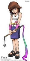 Kingdom Hearts: Summoner Yuna