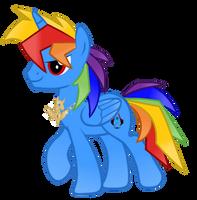 Request Rainbow Blaze by AzureFlarePonyArtist