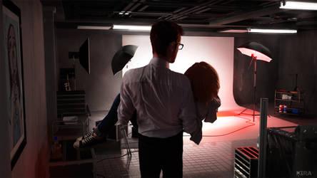 Dark Room Mark Jefferson - Max Caulfield