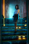 Decision making. Elizabeth from Burial at Sea.