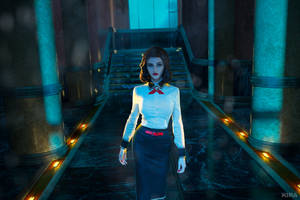 Decision making. Elizabeth from Burial at Sea. by ClaireSea