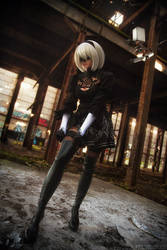 Yorha 2B cosplay by ClaireSea