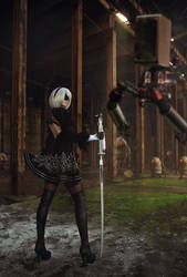 YoRHa No.2 Type B by ClaireSea