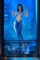 Elizabeth - Burial at Sea Mermaid