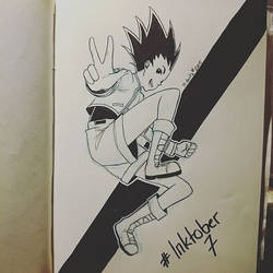 Inktober #7 by Mokota-Yuuago