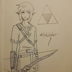 Inktober #8 by Mokota-Yuuago