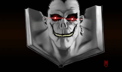 Ryuk of Death Note by Cyberborg