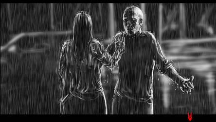 Rain by Cyberborg