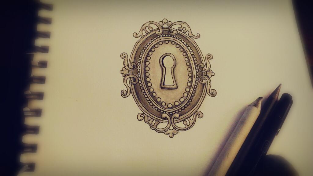 Antique Keyhole Tattoo Keyhole tattoo design byAntique Keyhole Tattoo