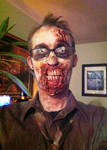 Halloween 2012 Zombie Make-up