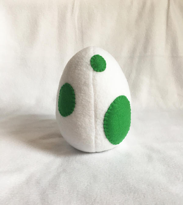 yoshi plush template - yoshi pokemon egg plush by cinderberrie on deviantart