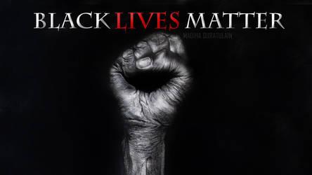 Black Lives Matter Tribute Artwork