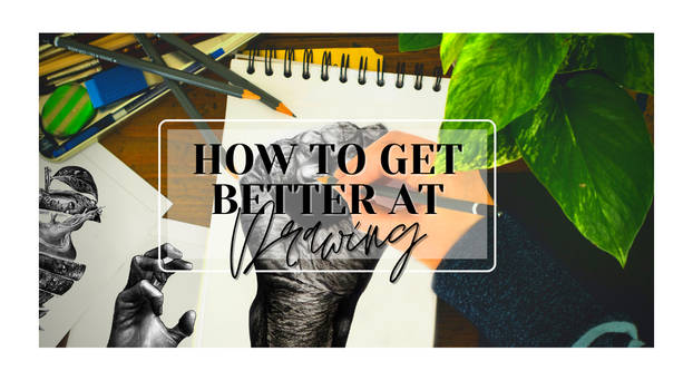 How to Get BETTER at DRAWING FAST