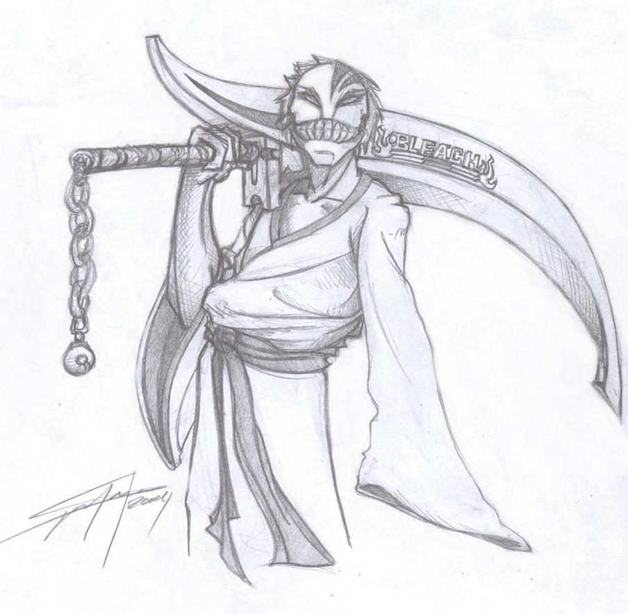 Bleach As A Hollow Shinigami By Calaveraspain On DeviantArt