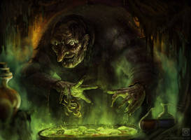 Old Witch by wwysocki