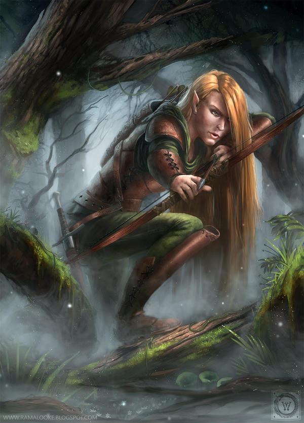 Mira - Elven Archer by wwysocki