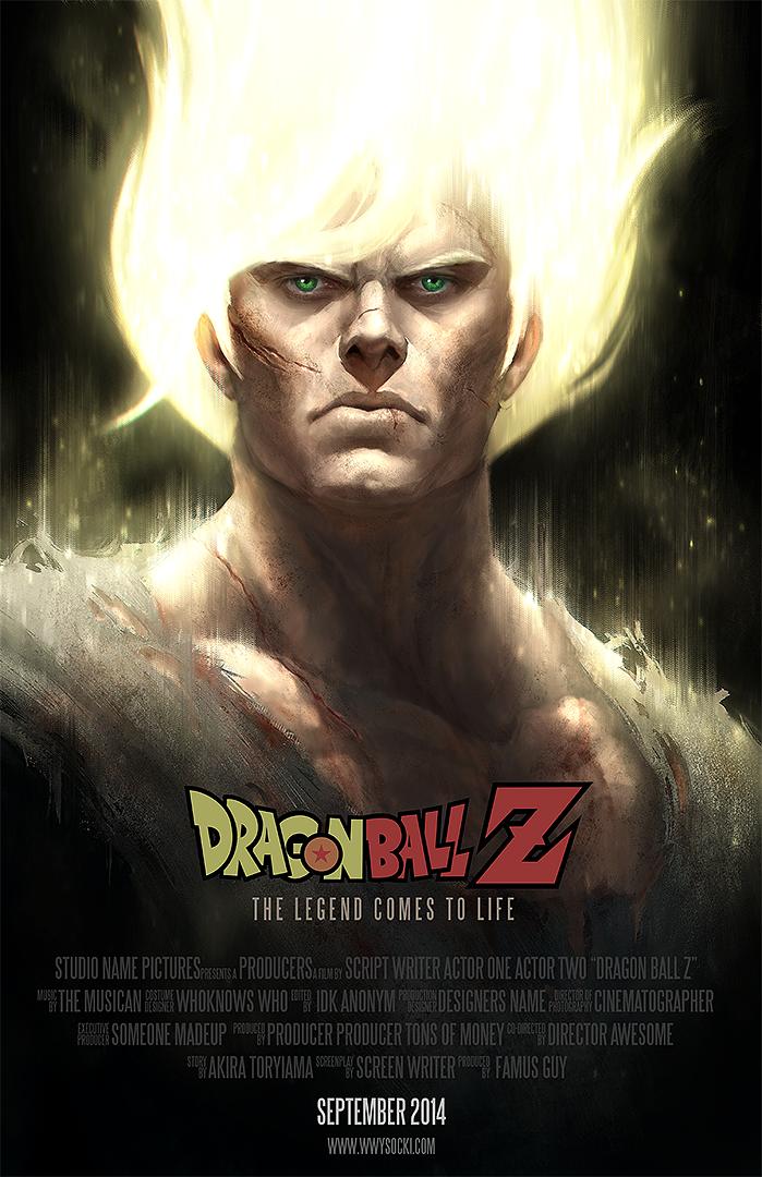 Dragon Ball Z: SonGoku FanArt by wwysocki