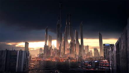SCI-FI City by wwysocki