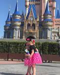 garlic and Lily at the Magic Kingdom