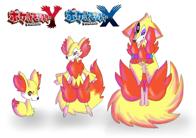 Pokemon X Fennekin Evolution | Car Interior Design