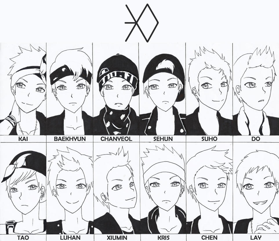 exo by mysimpleme14 on deviantart