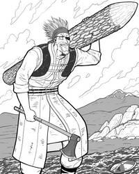 Vinland Saga - Thorkell by Ajaxandriel