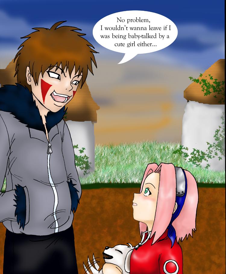 naruto flirt