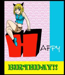 Happy Birthday firefly by kikikun