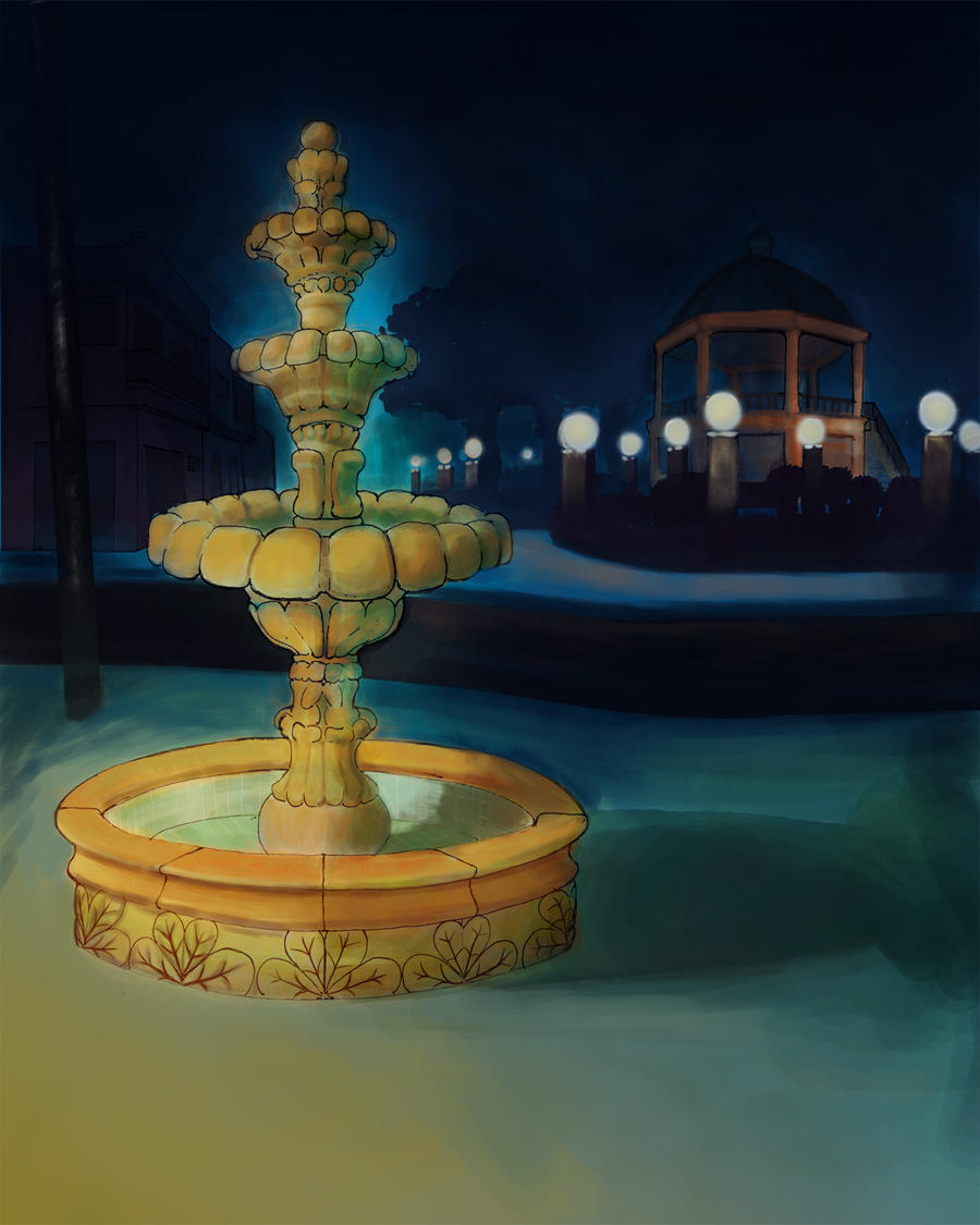 Fountain by Coatl510