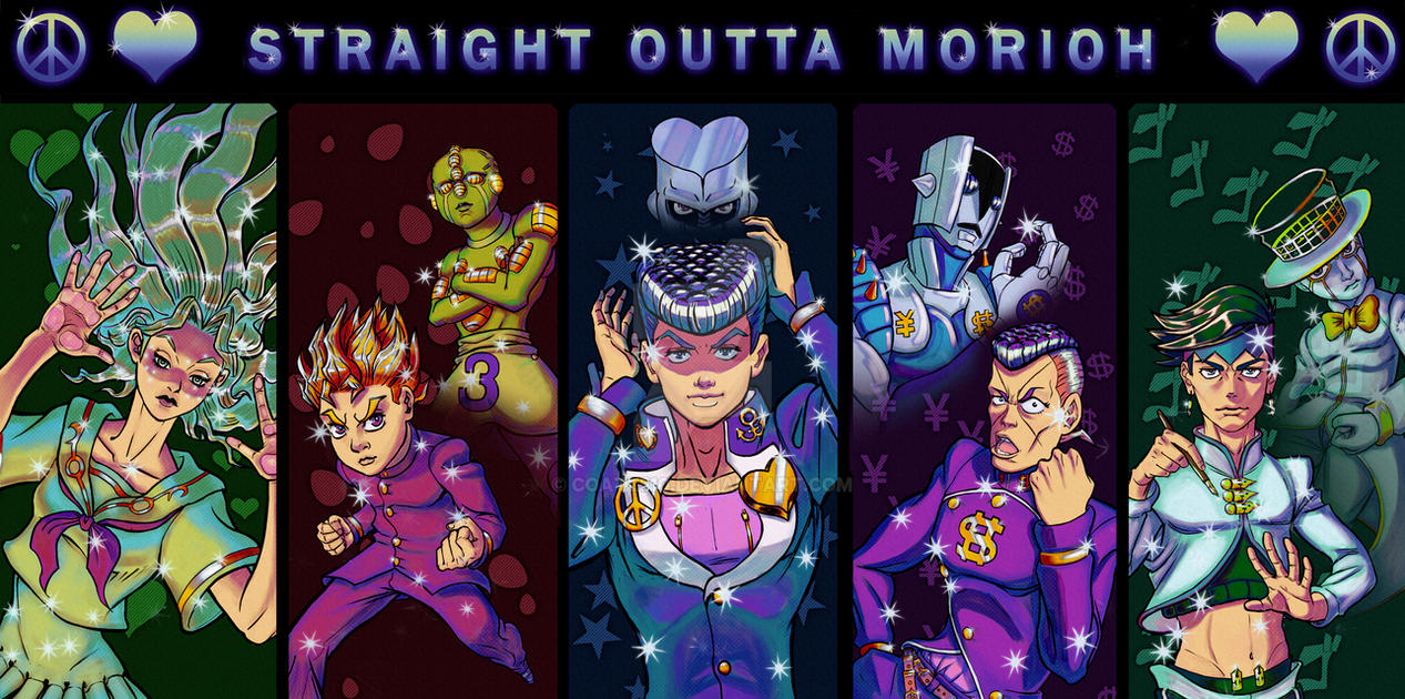 Straight Outta Morioh by Coatl510