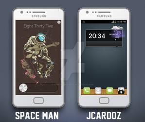 Space Man by JonathanCardoz