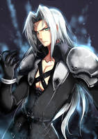 Sephiroth by Ryuuthelazybunny