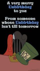 A very merry Unbirthday to you by callmesora