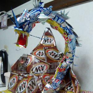 Gyarados Can Sculpture WIP