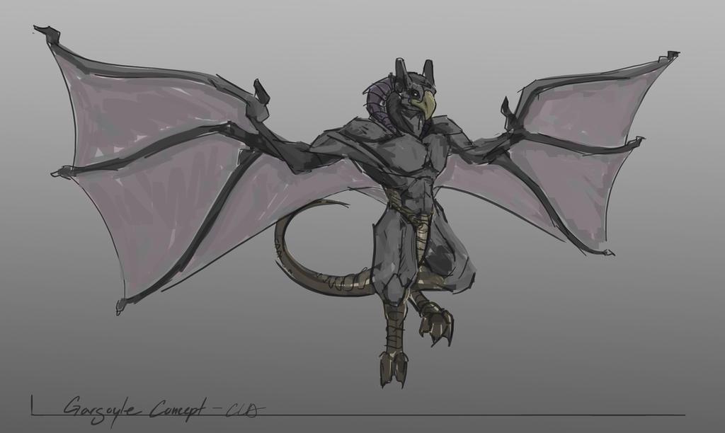 Gargoyle Concept by Cryoprime