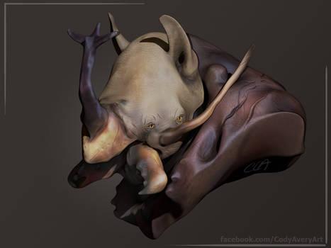 Rhinoceros Beetle Rhino Render