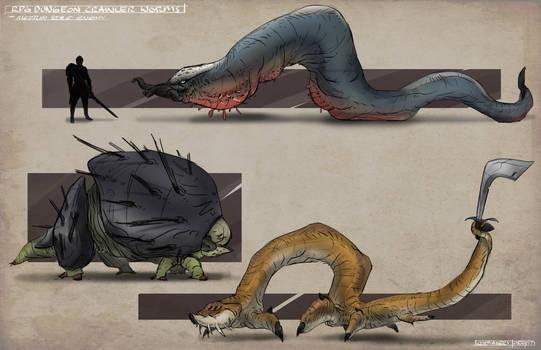 Medium Enemy Worms