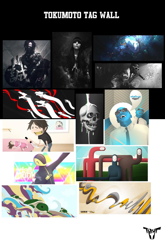 Tokumoto Tag Wall by Tokumoto