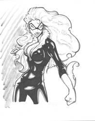 Rantz BlackCat inks by madman1